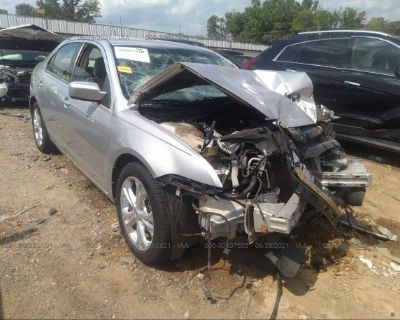 Salvage Silver 2012 Ford Fusion