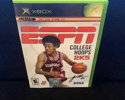 ESPN College Hoops 2K5 (Microsoft Xbox, 2004)