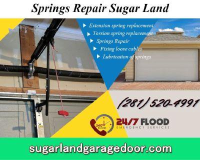 Expert Garage Door Spring Repair since 2000  Sugar Land, 77498 TX $25.95