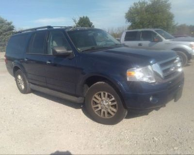 Salvage Blue 2012 Ford Expedition El
