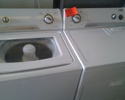 whirlpool gas set washer and dryer