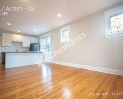 1917 Alfred Ave #1S, St. Louis, MO 63110 2 Bedroom Apartment