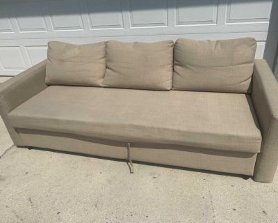 Convertible couch/bed/storage