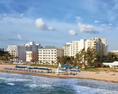 Wyndham Royal Vista-Get away at this tropical resort! Spacious 2 bedroom suite! - Pompano Beach