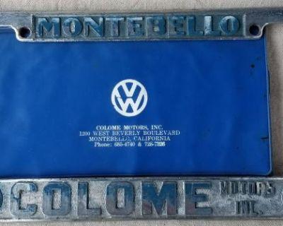 [WTB] Montebello Colome Motors Inc. License Plate Frame