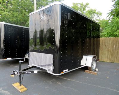 2022 Lark 6X12 SA Enclosed Flat Front