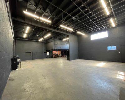 Spacious Warehouse Studio with Black Walls, Montebello, CA