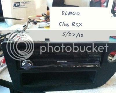 FS Pioneer AVH-P5900dvd Subs Amp Fiberglass Enclosure