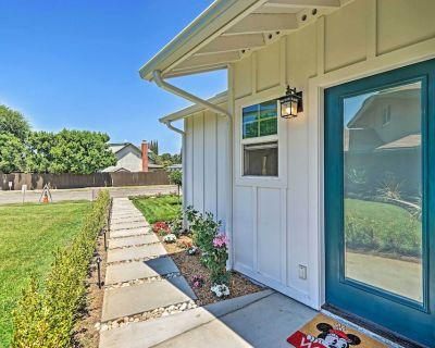 NEW! Bright Cottage Unit, 8 Miles to Disneyland! - Brea