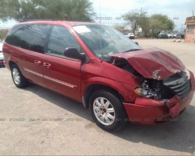 Salvage Red 2006 Chrysler Town & Country Lwb