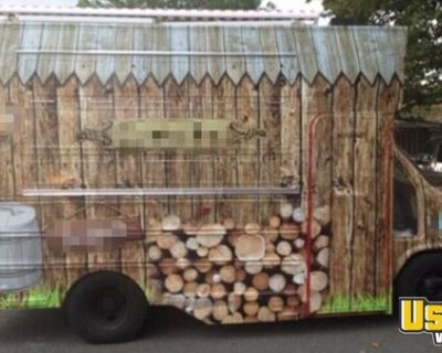 Loaded GMC Step Van Kitchen Food Truck/Mobile Kitchen Unit