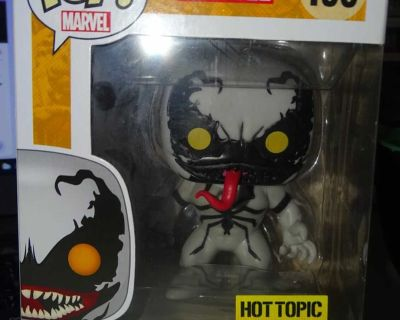 FUNKO POP MARVEL ANTI-VENOM HOT TOPIC EXCLUSIVE, ANOTHER PIC IN COMMENTS