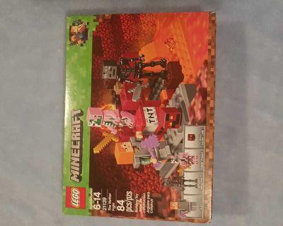 Retired minecraft lego