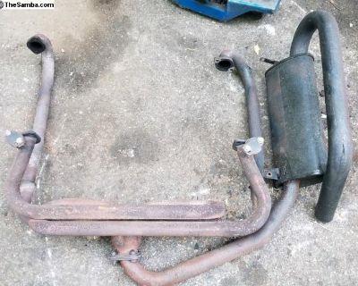 Hideaway Muffler Exhaust