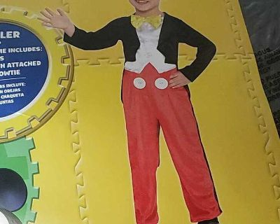 Mickey mouse toddler costume
