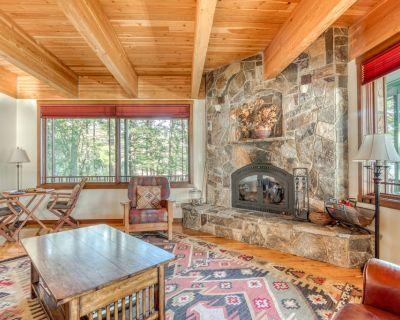 Beachfront home on the river w/ private beach, gas grill, & stunning interior! - Stevenson