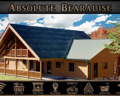 Absolute Bearadise - Secluded / Mtn View / Hot Tub / Porch Swing / Pool Table - Pigeon Forge