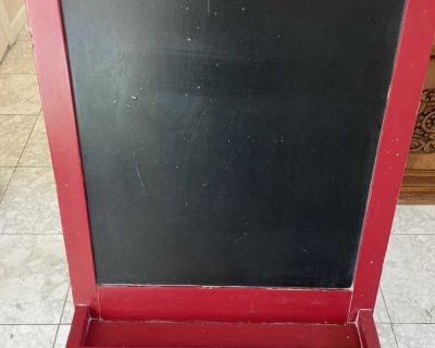 Pottery Barn Chalkboard and Painting Easel
