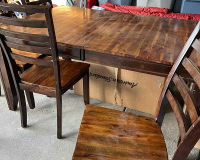 Wood Dining Table - Great Project!