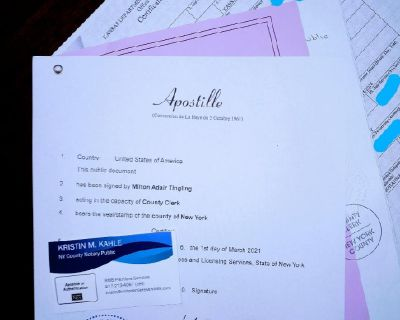 U.S. MARRIAGE CERTIFICATE ONLINE APOSTILLE SERVICES: Free Consultations