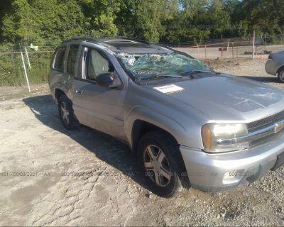 Salvage Gray 2005 Chevrolet Trailblazer