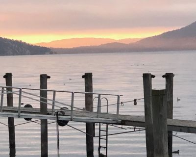 New Lake View 30ft Tumbleweed Tiny Home w/ access to private pier,dock,boat ramp - Nice