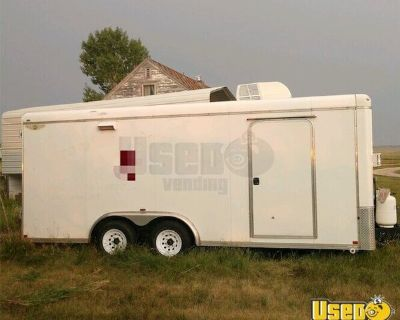2006 8' x 18' Ready to Cook Mobile Kitchen / Food Concession Trailer