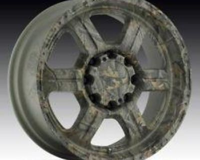 Vision V-tec Offroad 20' 326 Camo Finish 8-lug Custom Wheels / Rims (set Of 4)