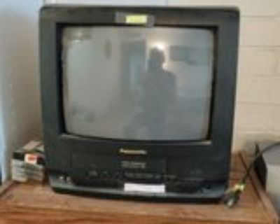 TV w/vhs built-in player