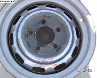 Early Porsche 911 steel wheel 1963