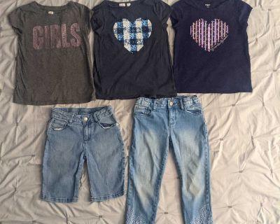 Girls Medium Clothes Bundle