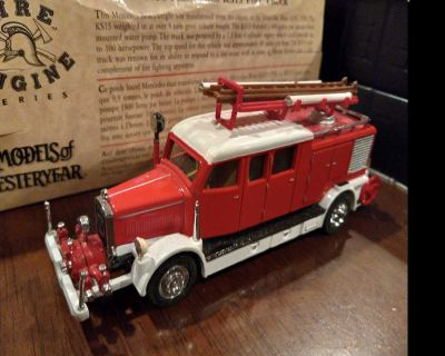 Mercedes fire truck 1938 model with box