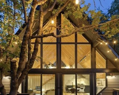 MODERN BOHO CABIN Luxe Remodel, Well Appointed, 3 Level, Loft, 2 AC Units, View - Lake Arrowhead
