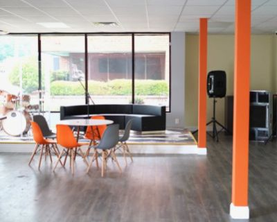 Cozy, Creative Mixed Space for Events. Recording Studio available on site, Peachtree Corners, GA