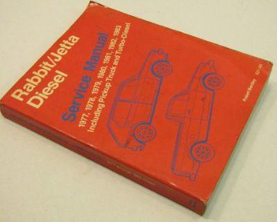 1977 1983 Vw Volkswagen Rabbit & Jetta Diesel Truck Turbo Repair Service Manual