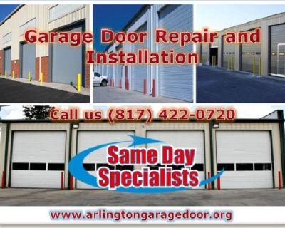 Same Day | Garage Door Installation Service ($25.95) Arlington, TX