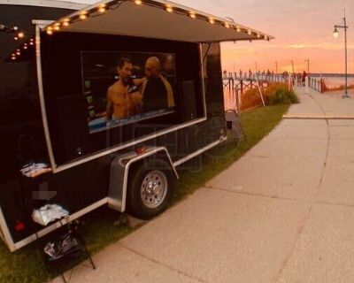 Lightly Used 2019 Custom Marketing Promo / Pop-Up Store or Tailgating Trailer