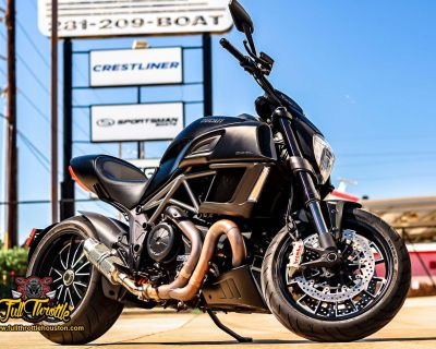 2018 Ducati Diavel Sport Houston, TX