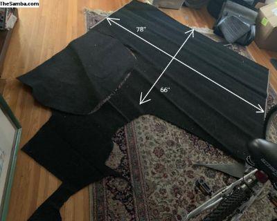 911 Carpet - black Haargarn 321
