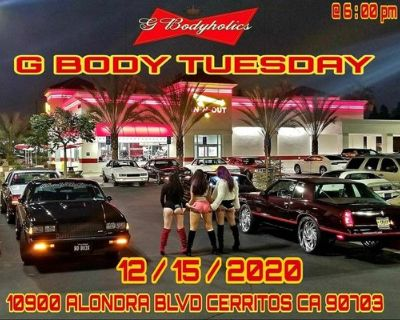 G Body Tuesday
