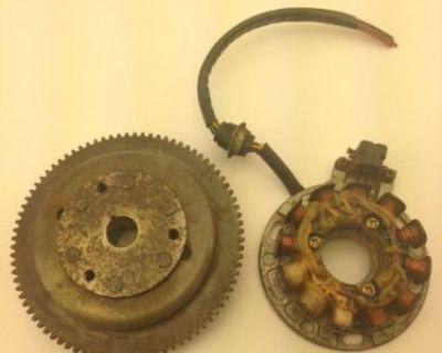 Polaris Sl Slt 750 / Magneto Asm. - Stator Plate - Flywheel / 3240270 & 3240215