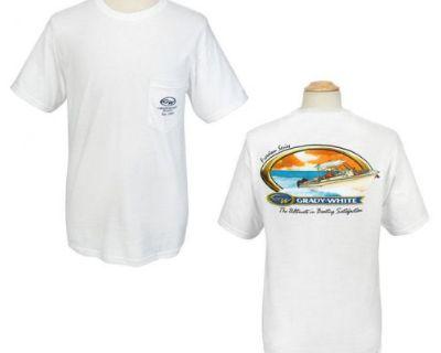 Grady White Boats Adult Gildan T-shirt W/pocket Freedom Series Xxx-large