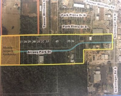 Great Location & Opportunity -10 Lots, Airway Park Dr