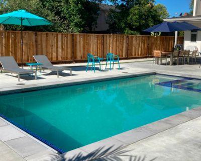 Brand New Heated Pool & Hot Tub in Spacious, Modern Backyard, Campbell, CA