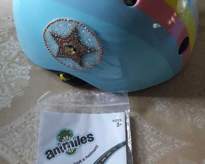 Adjustable Glitters Helmet for Kids ( NOTE CROSSPOSTED)