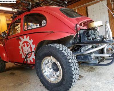 1963 Baja Bug - Fox shocks - Method Race wheels