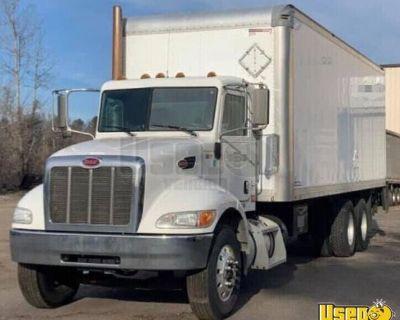 Ready to Work 2014 Peterbilt 348 Box Truck / Used Cargo Van