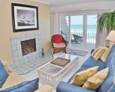 Top floor oceanfront condominium with fabulous ocean views and soft sea breezes. - Nags Head