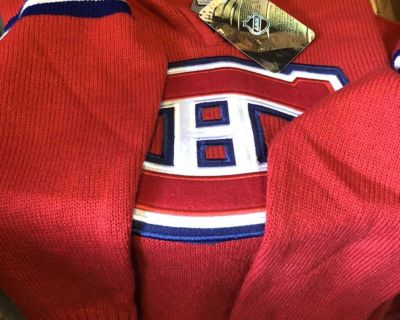 Never wear Red NHL sweater