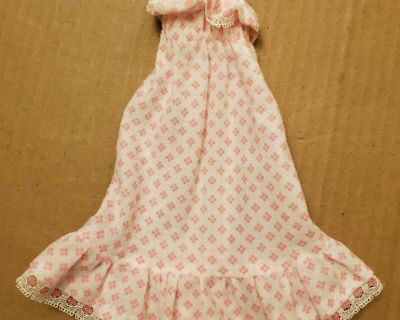 Doll Clothes long nightgown (S)